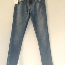 Bnwt 100% Auth Balmain Ladies Blue Slim Fit Skinny Jeans. 26 Rrp 195.00 Photo