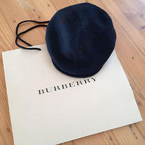 Bnwt 465 Burberry Prorsum Driving Drivers Pow Cap Hat Size M 56 57 Checkered Photo