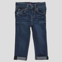 Bnwt 7 for All Mankind Jeans/pants - Andi Skinny Crop-Roll Jeans 7fbyg111 Sz 12y Photo