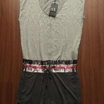 Bnwt Armani Exchange T-Shirt Romper Size Small Photo