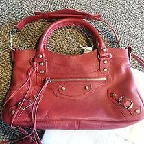 Bnwt Balenciaga 2013 Holiday Collection Rouge First With Gold Hw Photo