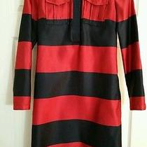 Bnwt Burberry Prorsum Navy and Red Dress Photo