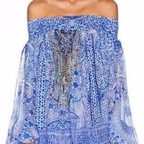 Bnwt Camilla the Bosporous Off the Shoulder Blouse/dress Silk Size 1 rrp449.00 Photo