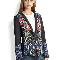 Bnwt Clover Canyon  Women's Blue Royal Egg Blazer Size Small Sold Out Photo