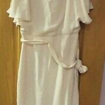 Bnwt Coast Elina Cold Shoulder Dress Blush Size 8 Photo