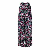 Bnwt Collectif Akiko Poppy Floral Palazzo Trousers Pinup 40s 50s Vintage Wide Le Photo