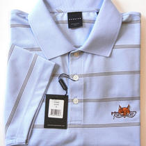 Bnwt Dunning 95 Mens Golf Sport Regular Fit Polo Shirt Sz Xl Xlarge - Aqua Photo