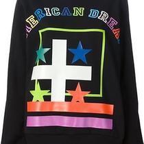 Bnwt Givenchy Black Printed Sweatshirt American Dream Slogan S 1195 Photo
