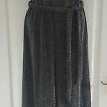 Bnwt h&m Silver Black Sparkly Strappy Jumpsuit Size Xs 8 10 New Photo
