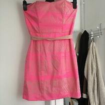 Bnwt h&m Size Uk 14 Pink Sleeveless Dress.   (A10) Photo