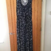 Bnwt- Jojo Maman Bebe Palm Print Maternity & Nursing Maxi Dress Size M 12-14 Photo