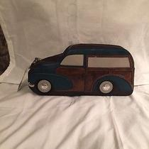 Bnwt Kate Spade Knock on Wood Car Clutch Photo