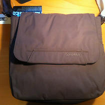 Bnwt Lesportsac Men's Frequency Messenger Sediment Bag in Brown Photo
