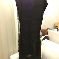 Bnwt Martin Margiela Mmm X H & M Black Leather Car Seat Cover Dress Eu 38 Us 8 Photo