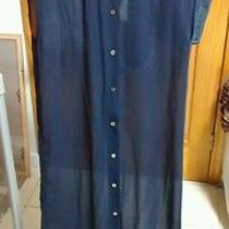 Bnwt New Urban Outfitters Shop Wood Wood Madewell Sheer Maxi Dress Top Medium Photo