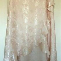 Bnwt Next Sz 14 Beautiful Summer Blush Pink Floral Skirt New With Tags Rrp 50 Photo