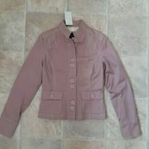 Bnwt Principles Womens Blush Pink Light Weight Button Up Cotton Jacket Size 10 Photo