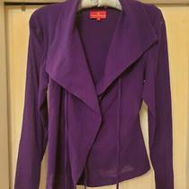 Bnwt Rrp 595 Designer Vivienne Westwood Purple Wrap Blouse Shirt Top Uk8 Photo