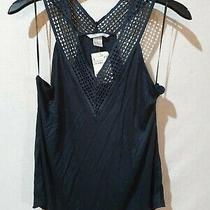 Bnwt Size Small Blue Racer Back Vest Top by h&m - 838 Photo
