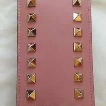 Bnwt Valentino Rockstud Light Pink Gold Cell Mobile Phone Case 425 Iphone 4 Photo