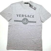 Bnwt Versace Mens Gray T-Shirt Size 2xl Photo