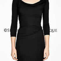 Bnwt Vivienne Westwood Anglomania Black Jersey Purity Dress Size M Net-a-Porter Photo