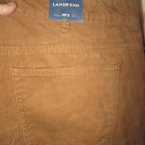 Bnwt Women's Lands' End Lightweight Corduroy Pants Size 20 W Photo