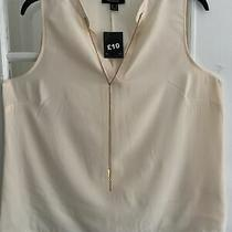 Bnwt Womens Blush Colour Sleeveless Tunic Top With Chain Uk Size 20 Photo