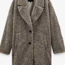Bnwt Zara Textured Teddy Coat Bloggers Fav. Size Xxl Sold Out Photo