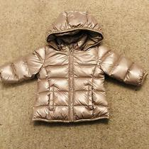 Bnwy Dkny Baby Girl Rose Gold Coat Approx 6 Months Photo