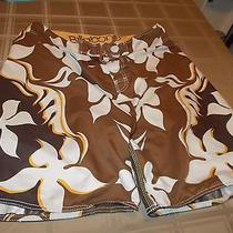 Board Shorts Name Brand Size 38 Billabong Browns Photo