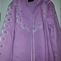 Bob Mackie Wearable Art Blush Color Blouse Size Large Photo