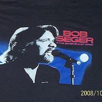 Bob Seger  1986   American Tour Tshirtvintage Xl Photo