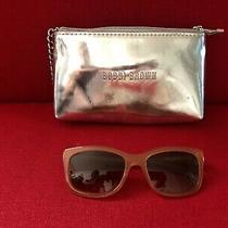 Bobbi Brown Mauve/pink Womens the Hollas Sunglasses W Silver Wristlet Bag Photo