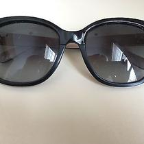 Bobbi Brown Oversize Cat Eye Look Black/ Blush Sunglasses Gradient Lens Gray Photo