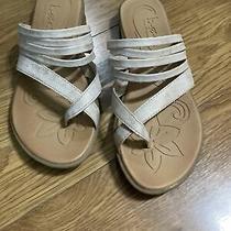 Boc Womens Pink Blush Alisha Multi-Strap Lightweight Toe Loop Sandals Size 7 Photo