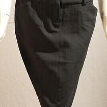 Body by Victoria Black Slim Skirt Size 4 W/ Pockets