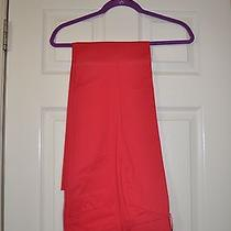Body by Victoria Secret Christie Dress Pants Bright Red 6 Photo