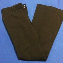 Body by Victoria the Christie Fit Black Career Work Pants Sz 6 Free Shipping Photo