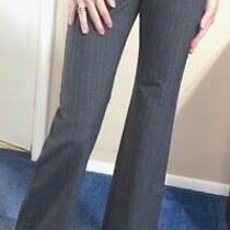 Body by Victoria the Christie Fit Gray Stripe Dress Pants 4 Xl Discontinued Photo