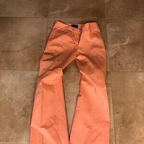 Body by Victoria the Christie Fit Womens Peach Pant Suit Size 8 Blazer Photo