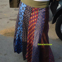 Bohemian Hippie Neck Tie Skirt- Custom Size and One of a Kind by Gmajanisew  Photo