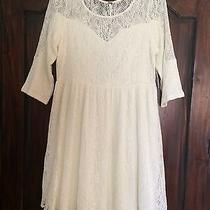 Boho Ivory Lace Crochet Dress  Photo