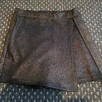 Boohoo Skirt/skort Shorts Size 8 Black and Rose Gold Photo
