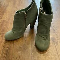 Bootie Ankle Olive Green Mosimo Women's Size 8 Photo