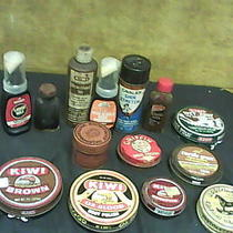Bootmaster -Griffin -Kiwi  -& Other Shoe Shine -Tins Lot of 14 J30t Photo