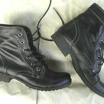 Boots G by Guess Womens Round Toe Ankle Fashion Booties Shoes Euc Photo