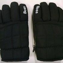 Boss Black Winter Gloves Mens. Never Worn. Photo