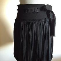 Boss by Hugo Boss Black Tie Bubble Skirt Size S Photo