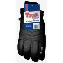 Boss Gloves Large Black Insulated Lined Poplin Gloves 4232bl Photo